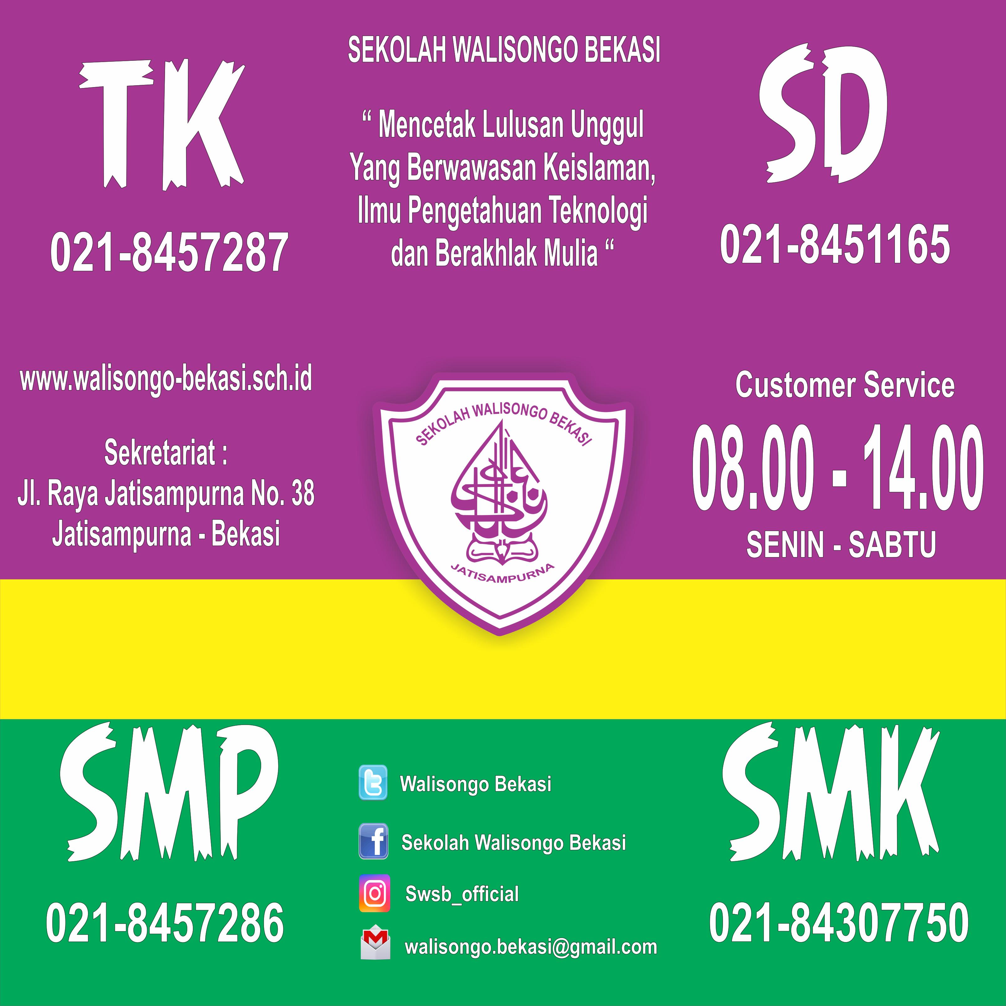 Sekolah Walisongo Bekasi Tk Sd Smp Smk