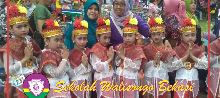 SD Walisongo Bekasi Juara 2 dan 3 Menari