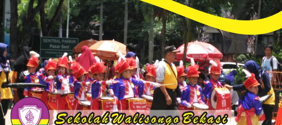 Juara 3 Lomba Drum Band TK Walisongo